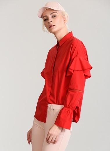 Volan Detaylı Gömlek-People By Fabrika